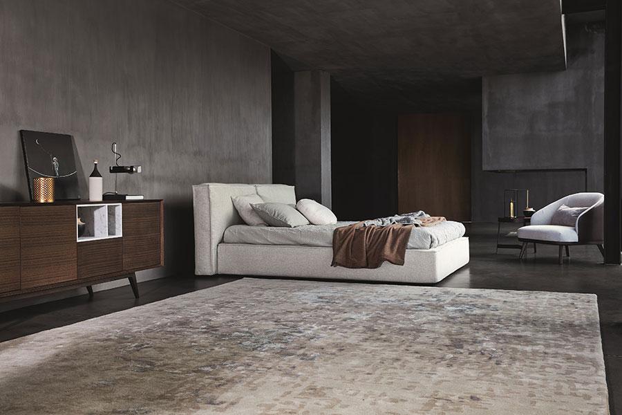 Modello di letto imbottito di Ditre Italia n.03