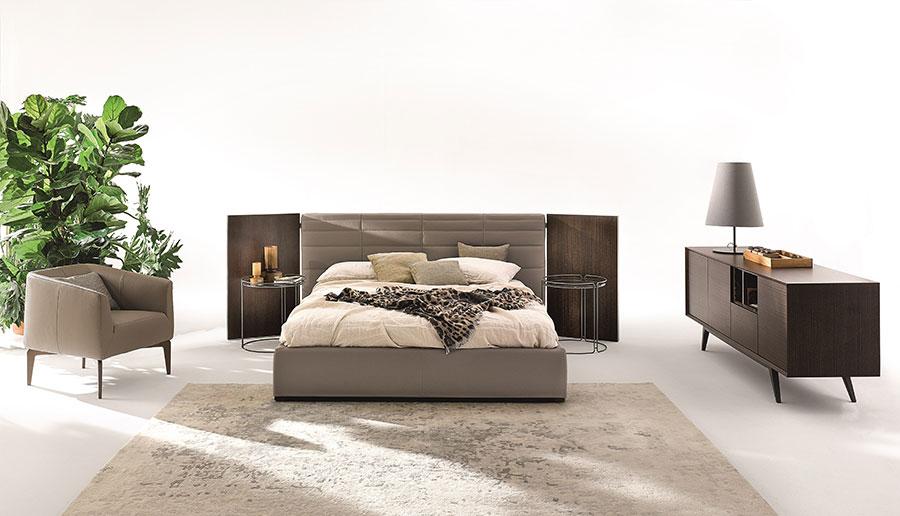 Modello di letto imbottito di Ditre Italia n.04