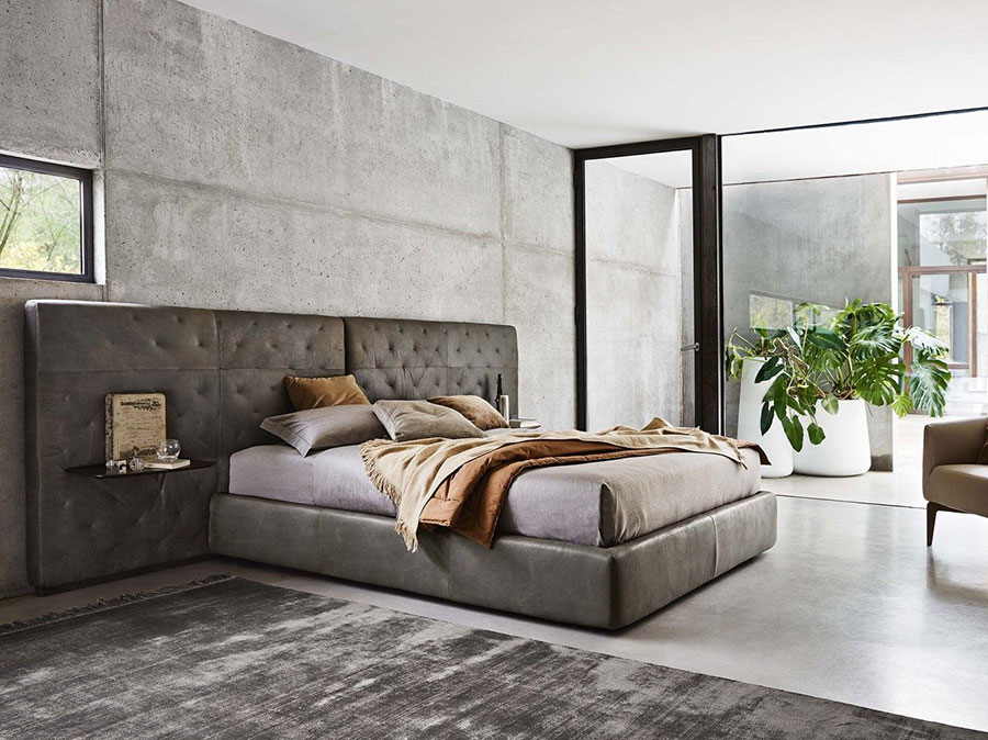 Modello di letto imbottito di Ditre Italia n.05
