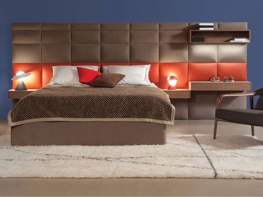 Modello di letto imbottito di Roche Bobois n.02
