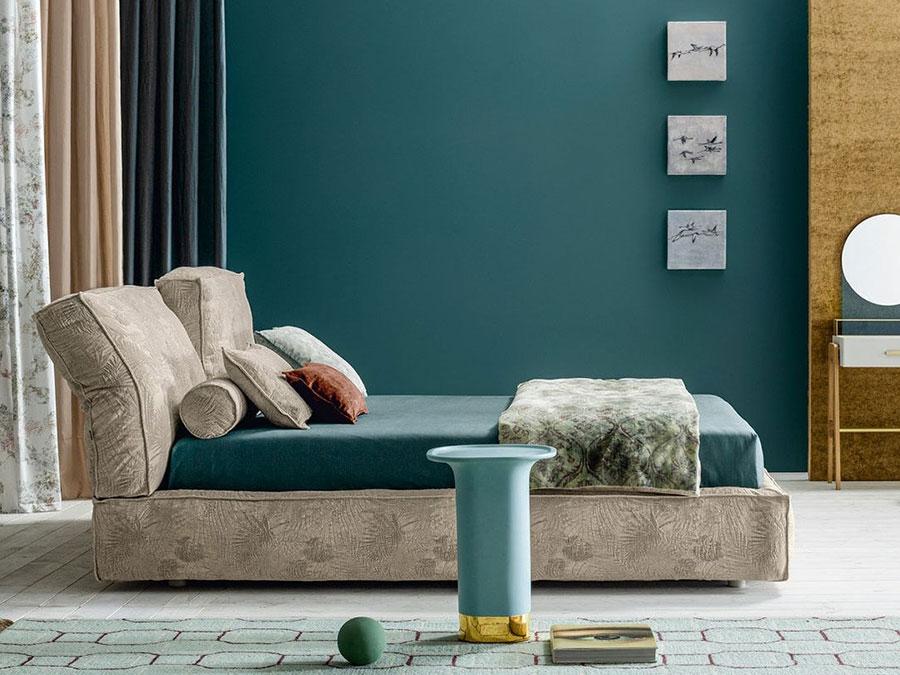 Modello di letto imbottito di Twils n.01