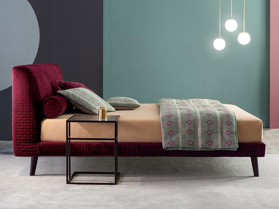 Modello di letto imbottito di Twils n.04