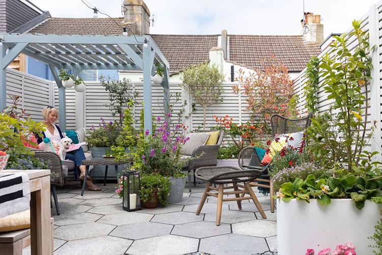 Come arredare un terrazzo low cost con le piante n.03