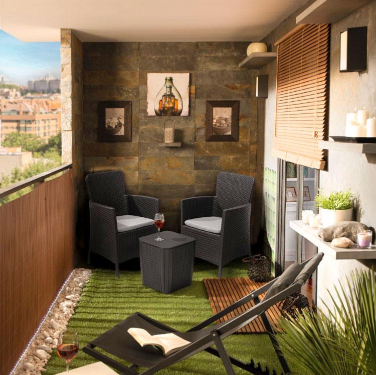 Come arredare un terrazzo low cost con divani economici n.02