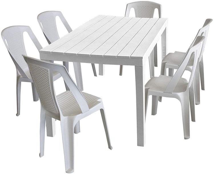 Come arredare un terrazzo low cost con tavoli e sedie economici n.02