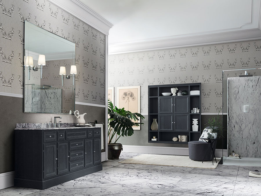 Idee di arredamento per bagno classico n.03