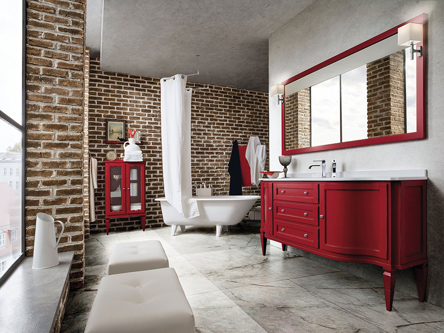 Idee di arredamento per bagno classico n.05