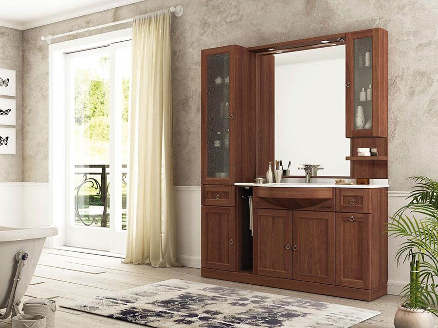 Idee di arredamento per bagno classico n.09