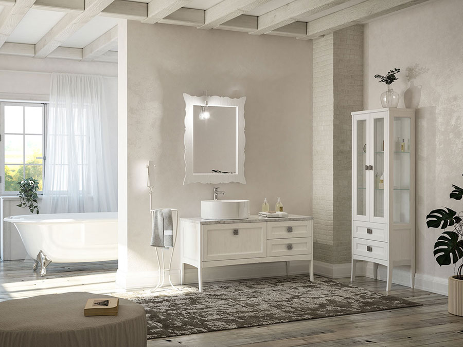 Idee di arredamento per bagno classico n.10