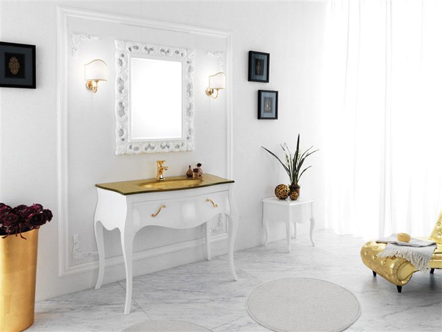 Idee di arredamento per bagno classico contemporaneo n.02
