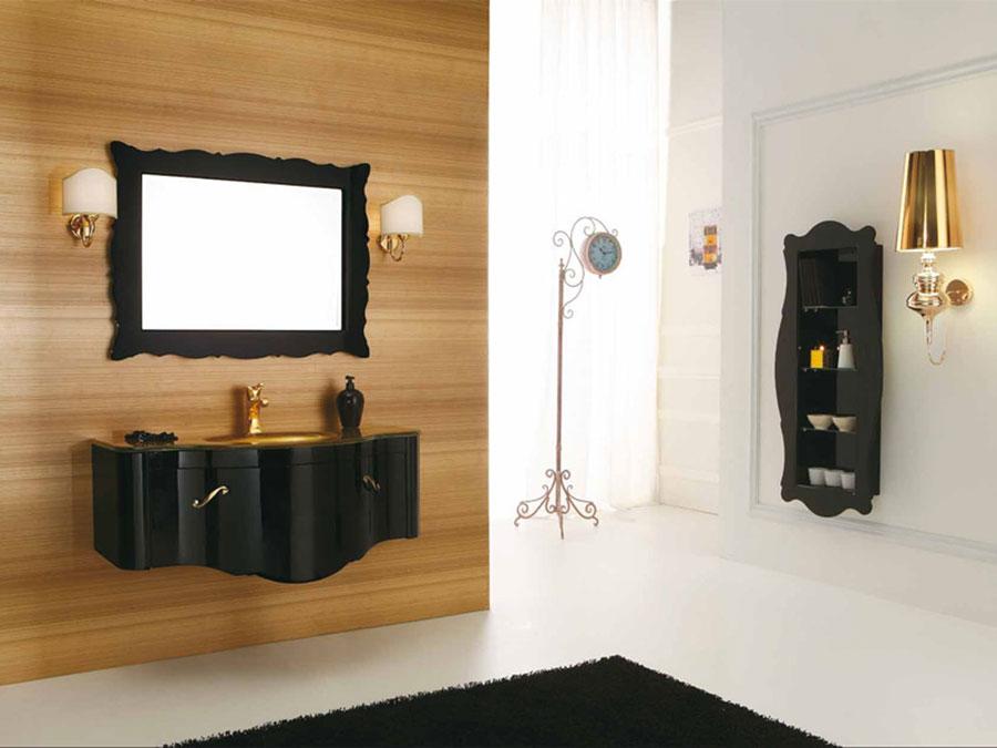 Idee di arredamento per bagno classico contemporaneo n.03