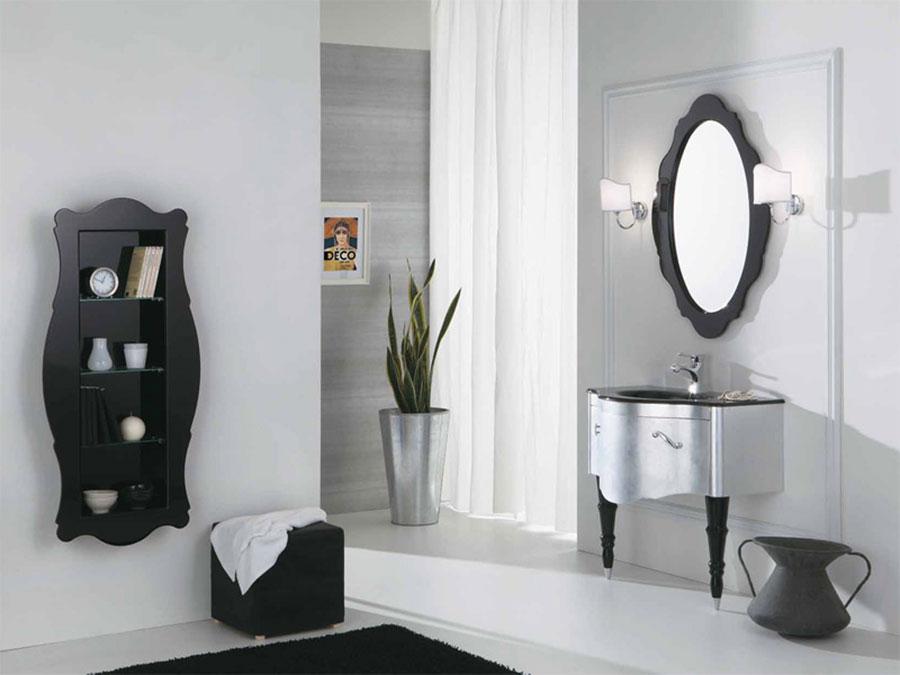 Idee di arredamento per bagno classico contemporaneo n.04