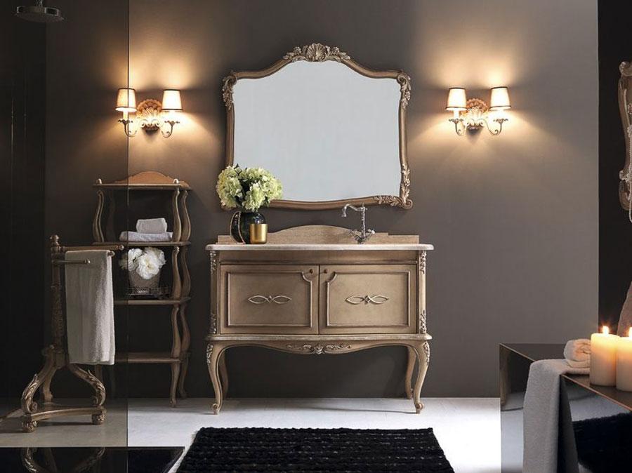 Idee di arredamento per bagno classico elegante n.05