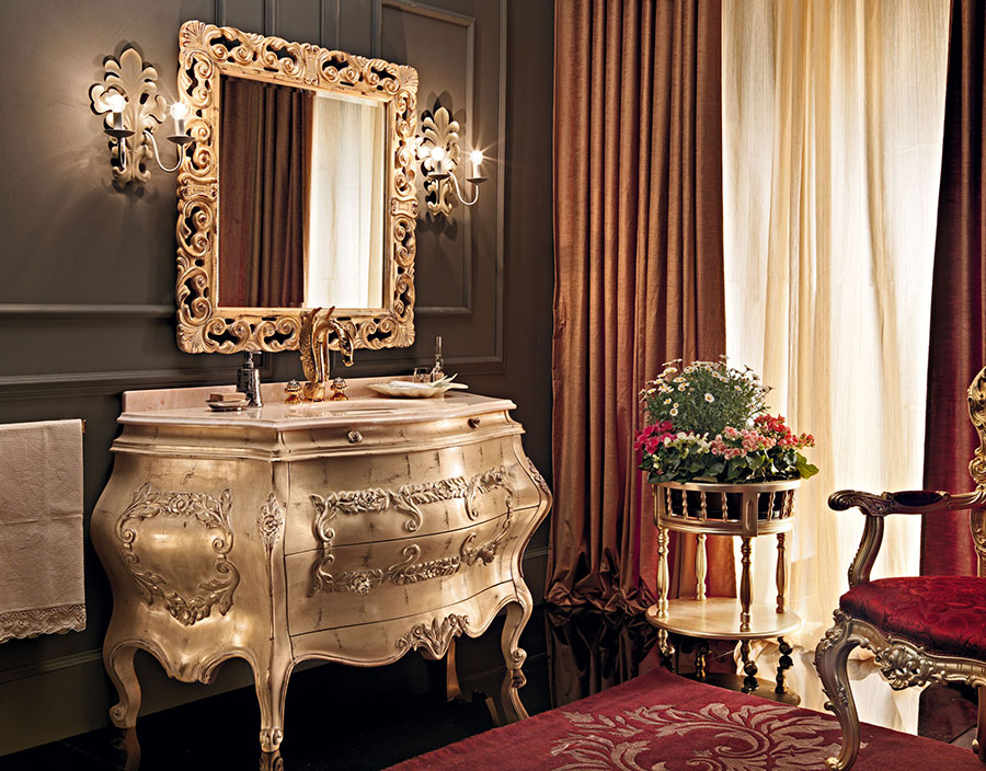 Idee di arredamento per bagno classico di lusso n.03
