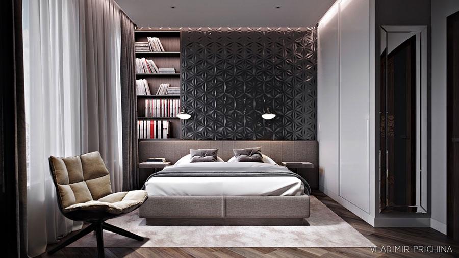 Idee per la libreria in camera da letto n.04