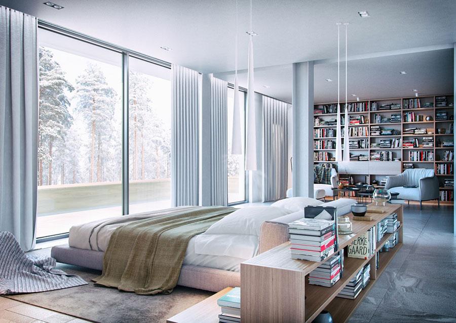 Idee per la libreria in camera da letto n.05