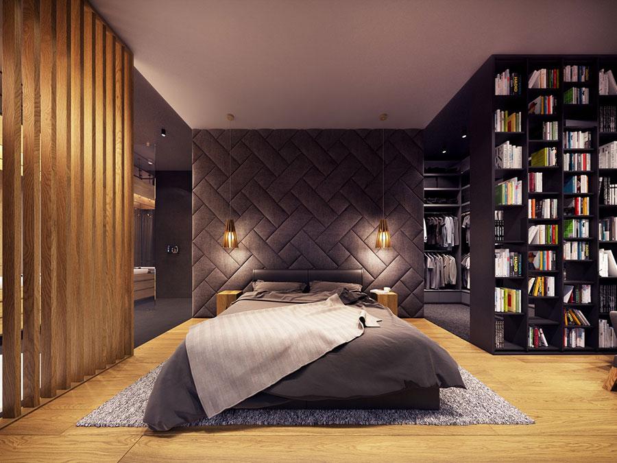 Idee per la libreria in camera da letto n.13