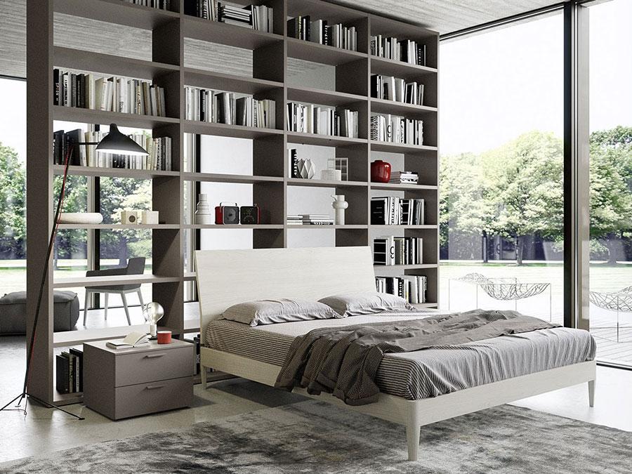 Idee per la libreria in camera da letto n.20