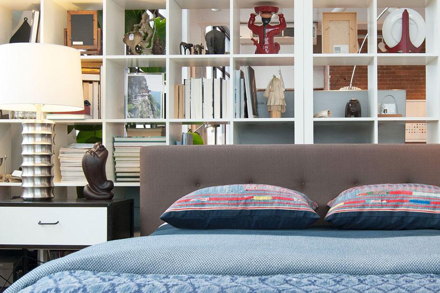 Idee per la libreria in camera da letto Ikea n.02