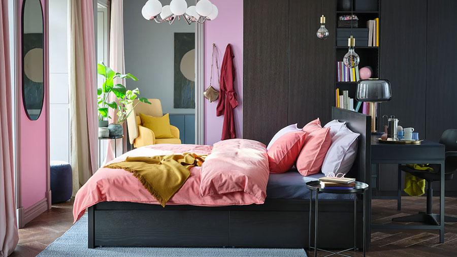 Idee per la libreria in camera da letto Ikea n.03