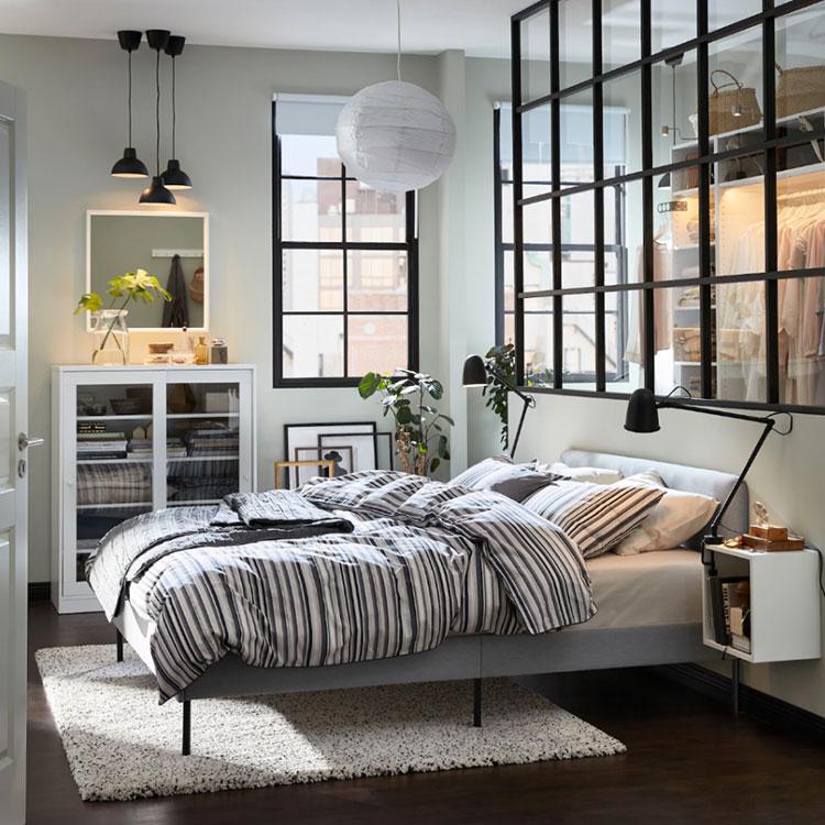 Idee per la libreria in camera da letto Ikea n.04