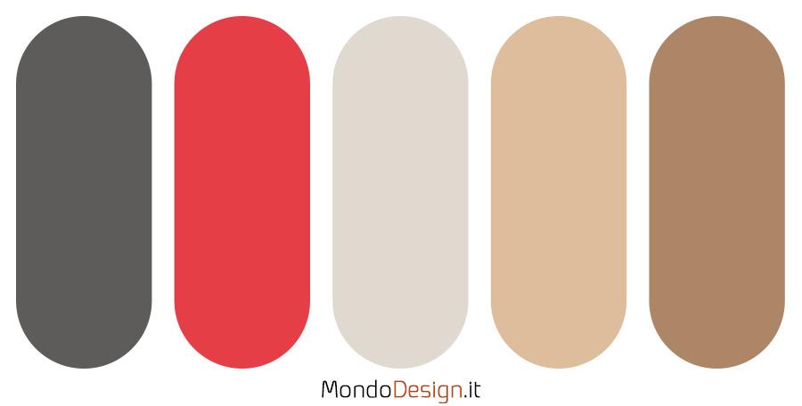 Palette colore amaranto n.03