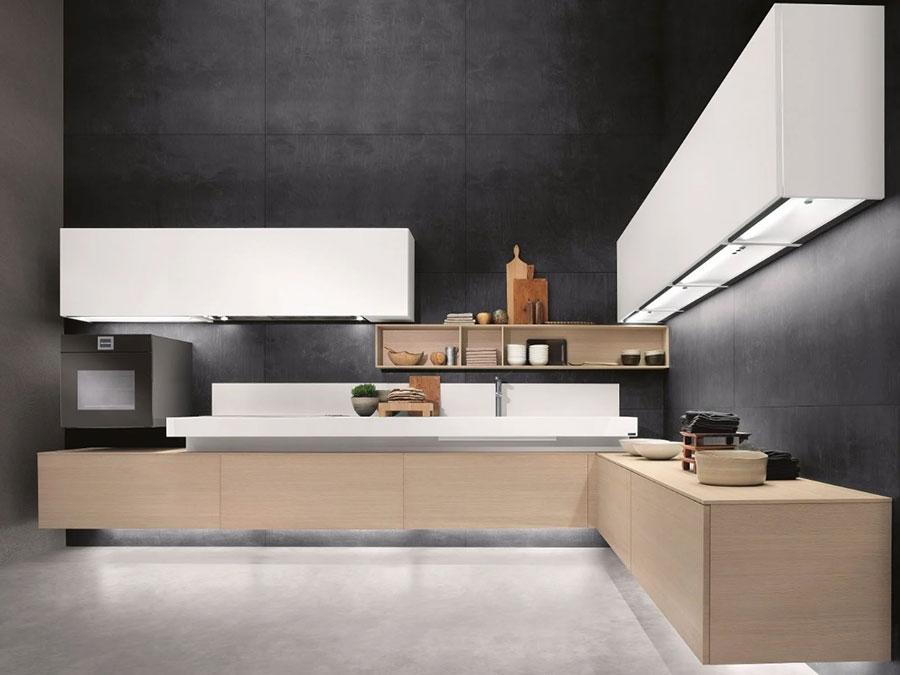 Modello di cucina sospesa Composit n.01