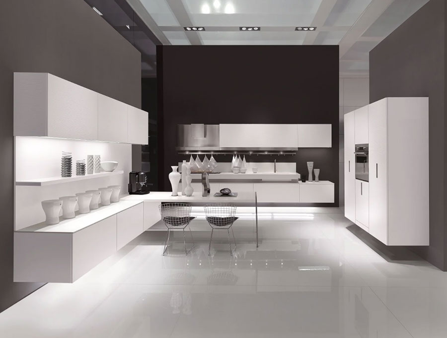 Modello di cucina sospesa Composit n.02