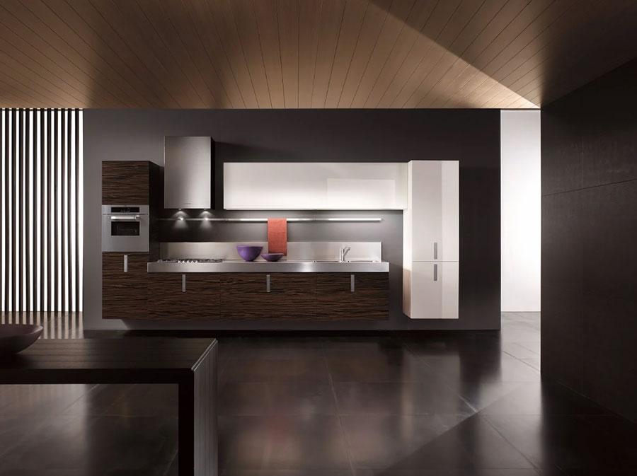 Modello di cucina sospesa Composit n.03