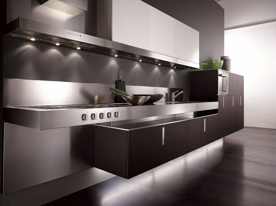 Modello di cucina sospesa Composit n.04