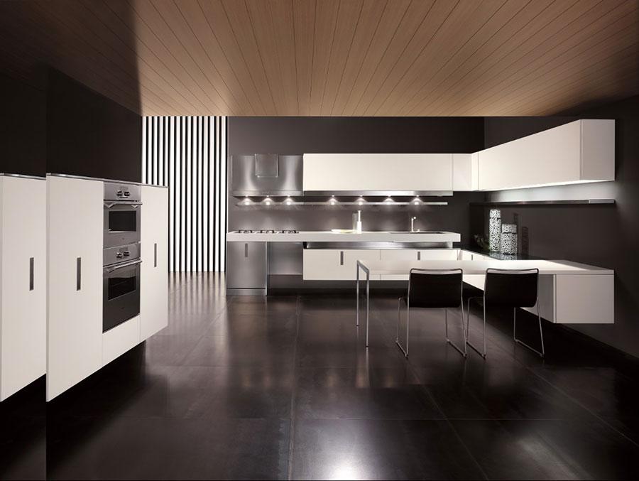 Modello di cucina sospesa Composit n.05