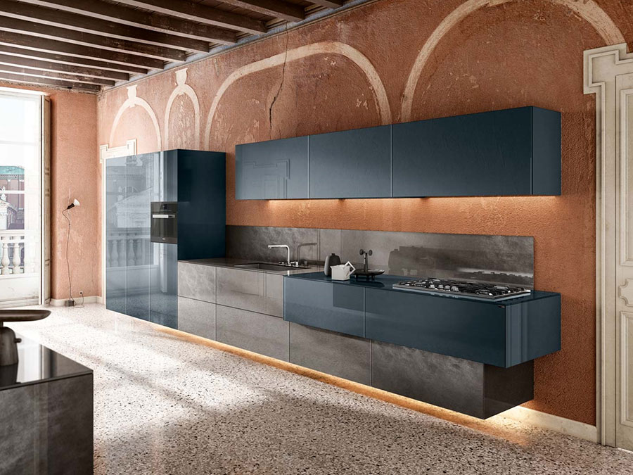 Modello di cucina sospesa Lago n.03