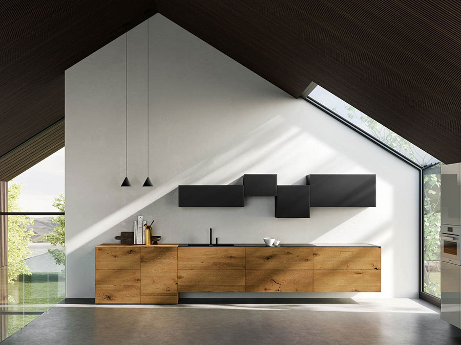 Modello di cucina sospesa Lago n.05