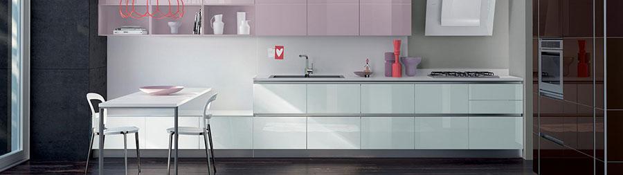 Modello di cucina sospesa Scavolini n.04