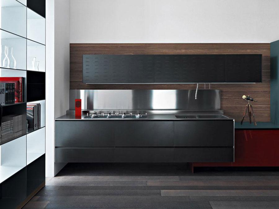 Modello di cucina sospesa Valcucine n.03