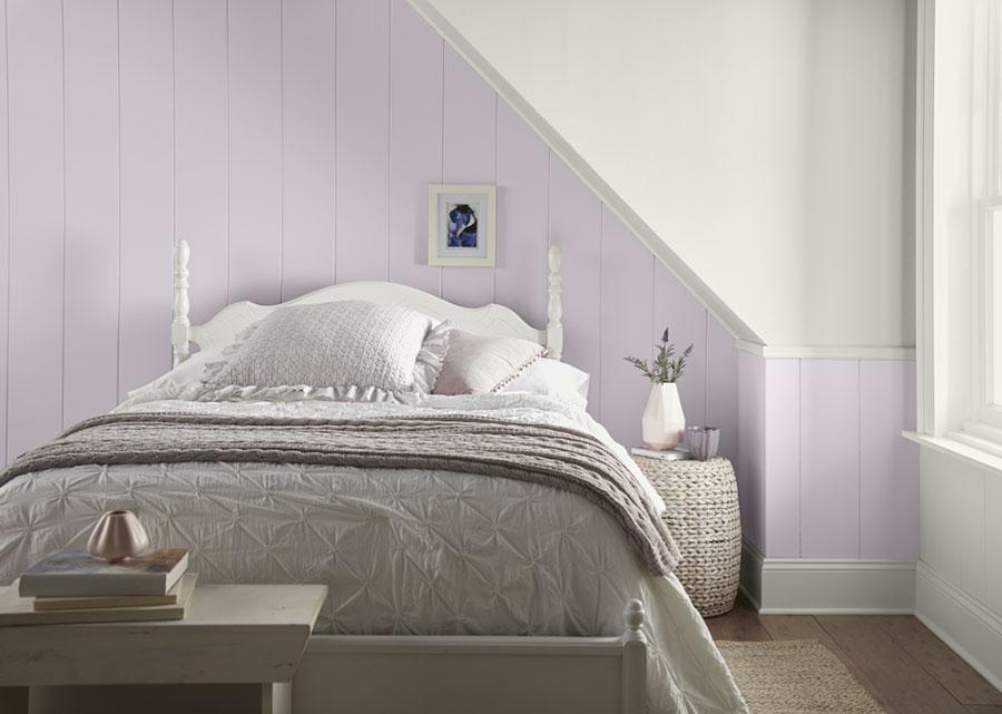 Colore lilla per camera da letto n.01