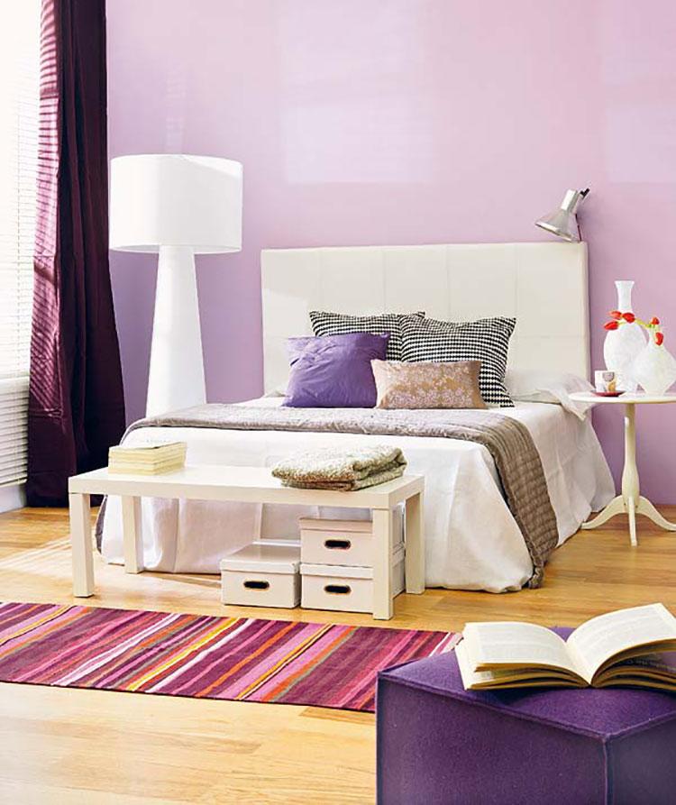 Colore lilla per camera da letto n.03