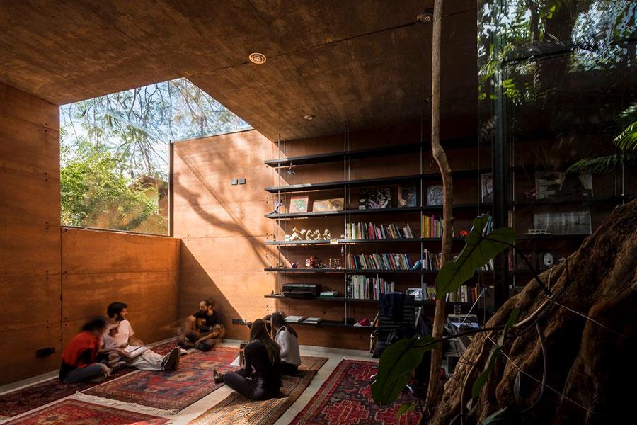 Idee per libreria moderna n.02