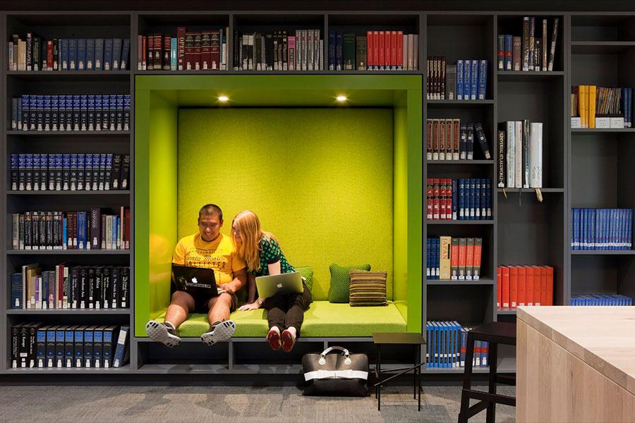 Idee per libreria moderna n.03