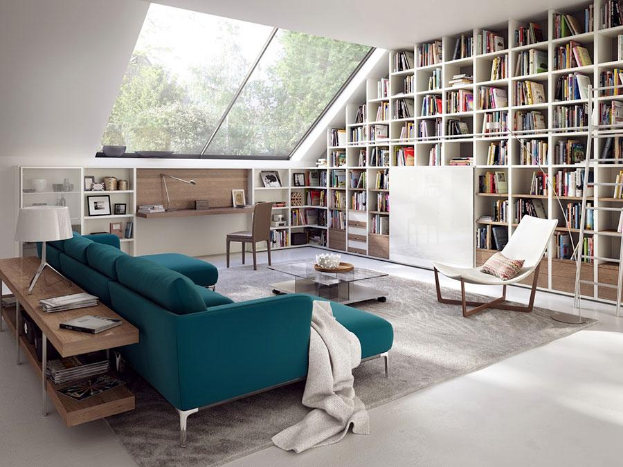 Idee per libreria moderna n.04