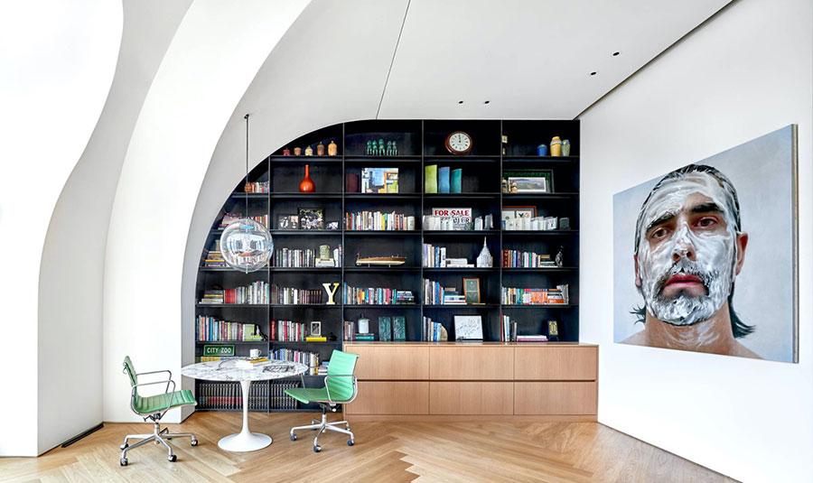 Idee per libreria moderna n.05