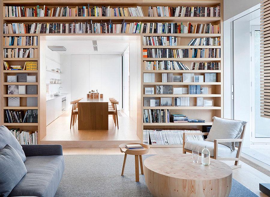 Idee per libreria moderna divisoria n.03