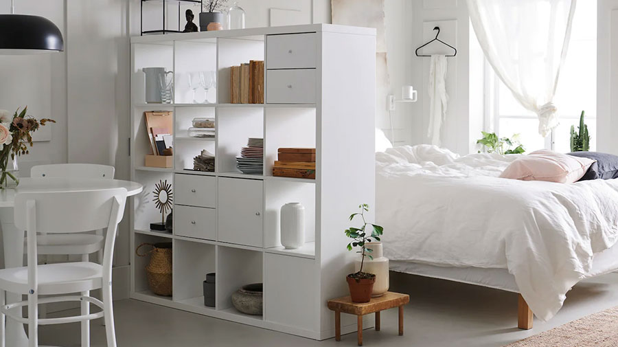 Libreria bifacciale Ikea n.02