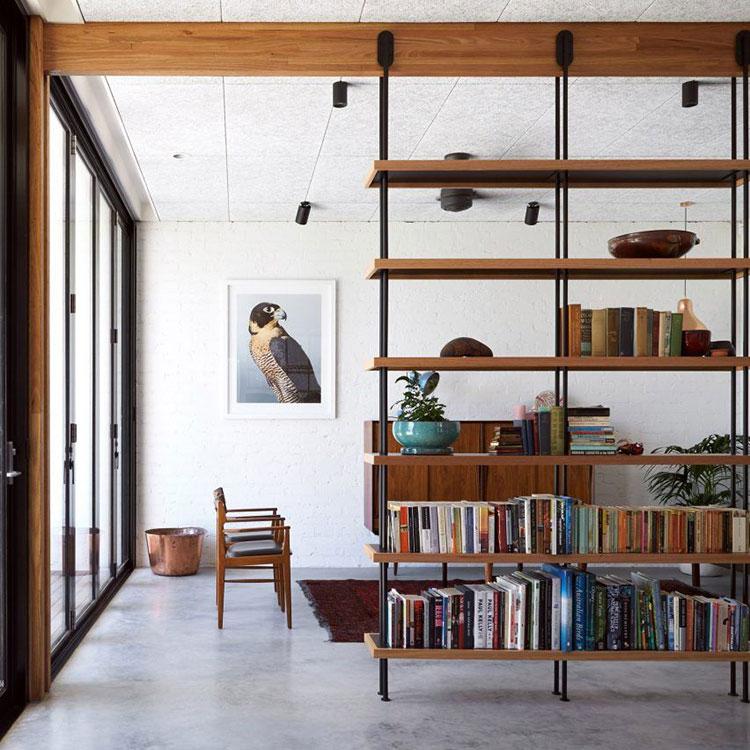 Libreria bifacciale a soffitto n.03