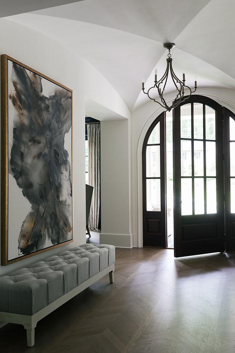 Dove collocare un quadro di grandi dimensioni in un ingresso n.01