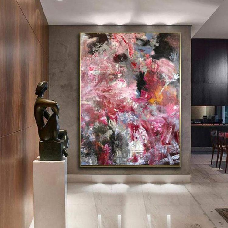 Dove collocare un quadro di grandi dimensioni in un ingresso n.05