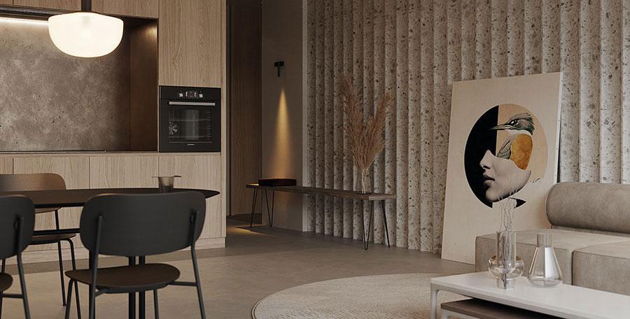 Quali quadri scegliere per un soggiorno classico moderno