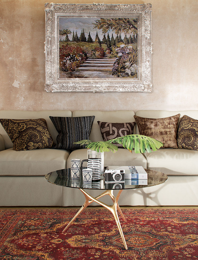 Idee per quadri con paesaggi in un soggiorno classico moderno n.01