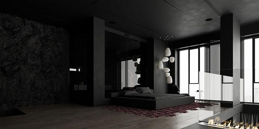 Idee per camera da letto nera 02