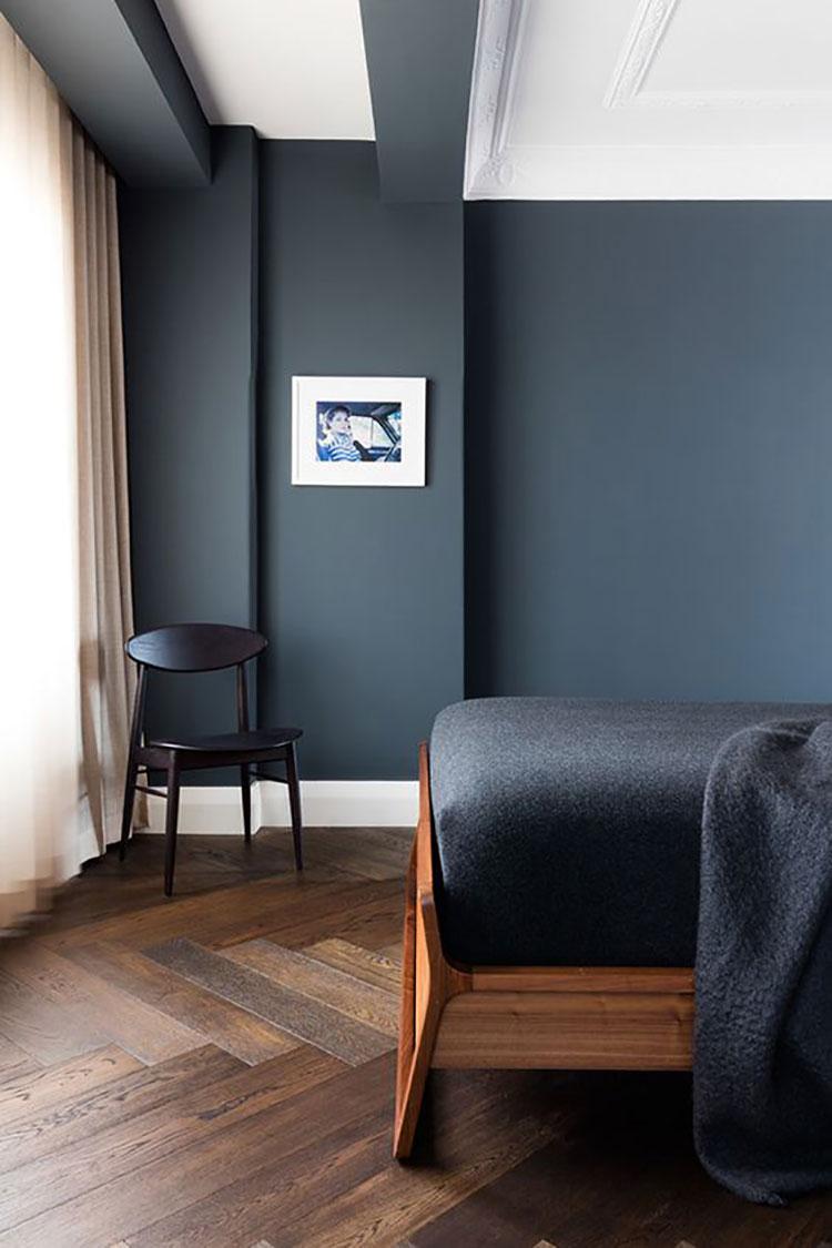 Tonalità nero blu